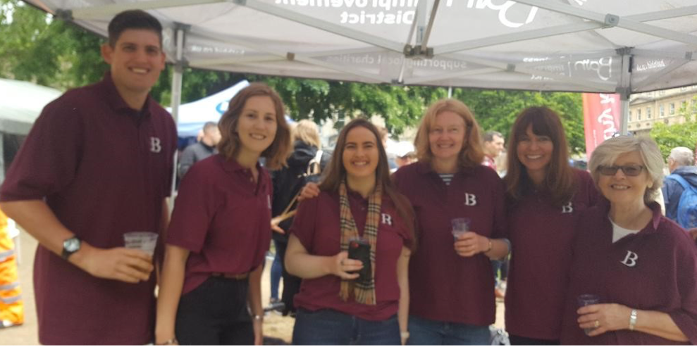 Burningham & Brown Competes in the Bath Boules Competition